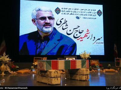 تصویر از آئین بزرگداشت ششمین سالگرد سردار شهید شاطری در سمنان برگزار میشود