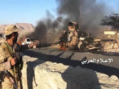 تصویر از حمله ارتش و کمیتههای مردمی یمن به جنوب عربستان