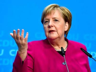 تصویر از مرکل: اروپا و آمریکا درباره ایران هدف مشترکی دارند