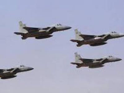 تصویر از حملات متجاوزان سعودی به بخشهایی از یمن
