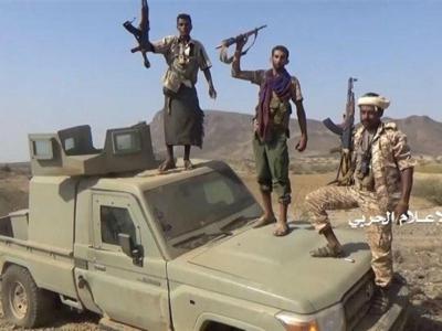 """تصویر از پیشروی نیروهای یمنی در عسیر؛ هلاکت ۵ داعشی در """"البیضاء"""""""