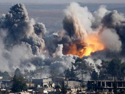 تصویر از جنگندههای سعودی، صنعا را بمباران کردند