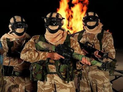 تصویر از زخمی شدن کماندوهای ویژه انگلیسی در جنگ یمن