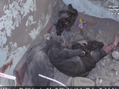 تصویر از ۲۳ زن و کودک؛ افزایش قربانیان حمله ائتلاف سعودی به حجه یمن