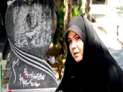 تصویر از عاشقانههایی از همسر شهید تیپ فاطمیون/ جوان خیاطی که لباس رزم دفاع از حرم پوشید