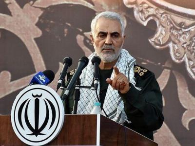 تصویر از سردار قاسم سلیمانی در فهرست متفکران برتر فارن پالیسی