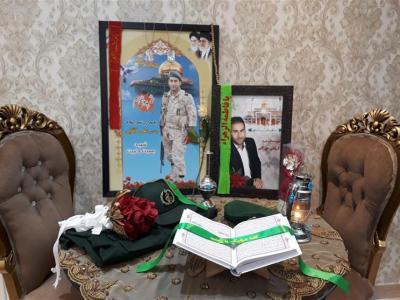 تصویر از عصر شعر و خاطره در منزل شهید مدافع حرم اردبیل«علی آقایی» برگزار شد