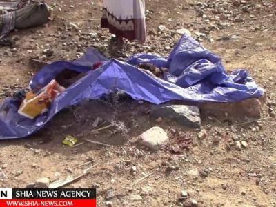 تصویر از انتشار تصاویر اجساد تکه شده مردم یمن در حمله سعودی در ماه رمضان