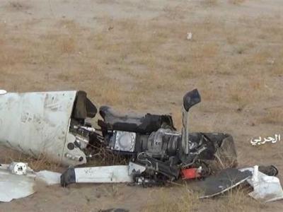 تصویر از یمن| سرنگونی پهپاد جاسوسی عربستان در نجران/ عملیات ضربتی رزمندگان یمنی در الجوف