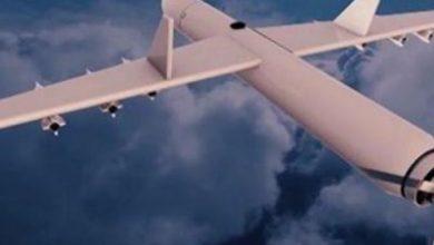تصویر از حمله پهپادی یمن به یک پایگاه هوایی مهم سعودی