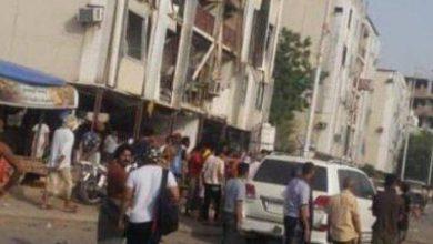 تصویر از وقوع ۲ انفجار در عدن یمن با دهها کشته و زخمی