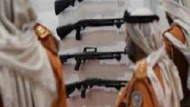 تصویر از اعطای سلاح عربستان به عناصر گروه جنایتکار «جنجوید» در یمن