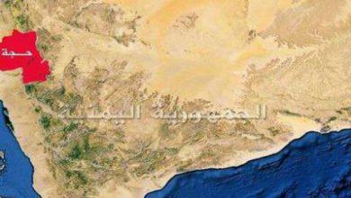 تصویر از کشته شدن اعضای یک خانواده در بمباران ائتلاف متجاوز سعودی در حجه یمن