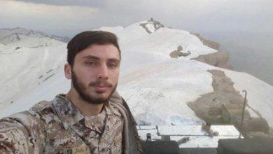 تصویر از جوان بنابی در دفاع از مرزهای ایران به شهادت رسید
