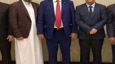 تصویر از هیأت «شورای انتقالی جنوب یمن» وارد عربستان سعودی شد