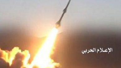 تصویر از حمله موشکی نیروهای یمنی به اتاق جنگ نیروهای سعودی
