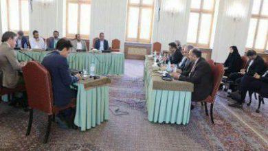 تصویر از نشست سه جانبه ایران، انصارالله یمن و سفرای ۴ کشور اروپایی