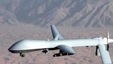 تصویر از انصارالله بعد از سرنگونی پهپاد آمریکا: آسمان یمن جای تفریح نیست