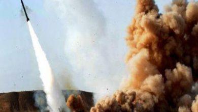 تصویر از حمله موشکی به جنوب عربستان/ مرکز فرماندهی ائتلاف سعودی مورد اصابت قرار گرفت