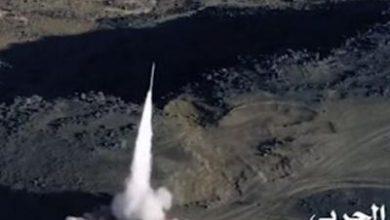تصویر از یمن ۲ موشک بالستیک به جنوب عربستان شلیک کرد