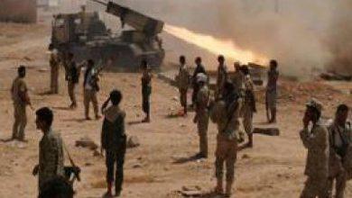 تصویر از تسلط مبارزان یمنی بر مواضع متجاوزان ائتلاف سعودی در گذرگاهی مرزی