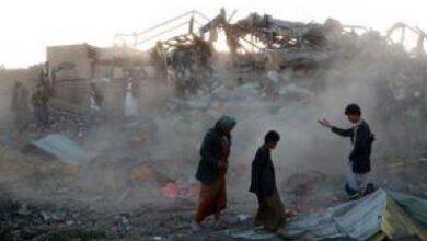 تصویر از ائتلاف متجاوز مانع جمع آوری اجساد نیروهای خود در نجران میشود