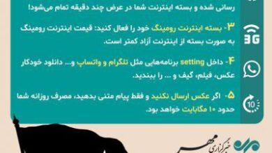 تصویر از اینفوگرافیک/ کمهزینهترین روش اتصال به اینترنت در عراق