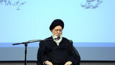 تصویر از امام جمعه مشهد: شهدای فاطمیون نخبگان جامعه ایثارگری هستند