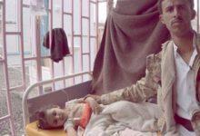 تصویر از جان باختن ۹۱۳ یمنی بر اثر ابتلا به وبا از ابتدای ۲۰۱۹