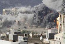 تصویر از شهادت ۵ یمنی در تازهترین جنایت رژیم سعودی