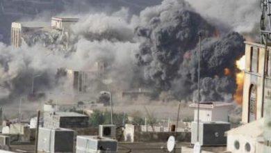 تصویر از عربستان ۵۲ بار یمن را بمباران کرد