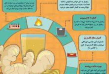 تصویر از اینفوگرافیک / پنج دلیل برای افزودن زنجبیل به صبحانه