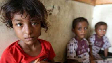 تصویر از یمن| فوت سالانه ۱۰۰ هزار کودک بر اثر محاصره ائتلاف سعودی