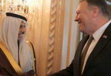 تصویر از گفتوگوی وزیر خارجه سعودی با پامپئو درباره تحولات منطقه