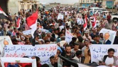 تصویر از یمنیها خواستار خروج امارات از جزیره سقطری شدند