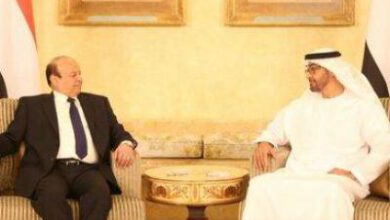 """تصویر از مخالفت یمنیها با حضور ولیعهد ابوظبی در مراسم امضای """"توافق ریاض"""""""