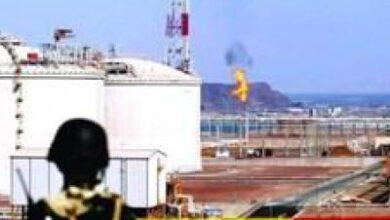 تصویر از زندان مخفی امارات در تاسیسات گازی «توتال» در جنوب یمن