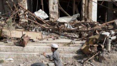 تصویر از دهها کشته و زخمی در حملات جدید ائتلاف سعودی به صعده یمن