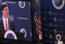 تصویر از وزیر دفاع آمریکا: ایران، تحت فشار فزاینده است/ با ریاض منافع مشترک داریم