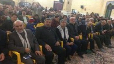 تصویر از گرامیداشت یاد شهدای مدافع حرم در قزوین