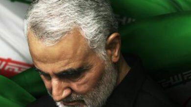 تصویر از برگزاری مراسم بزرگداشت علمدار جبهه مقاومت در تبریز