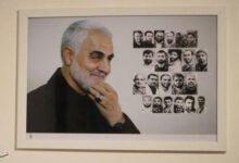 تصویر از نمایشگاه عکس «سردار آسمانی» در رشت به روایت تصویر