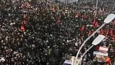 تصویر از پیام قدردانی مسئولان کرمان از حماسهآفرینی مردم در تشییع پیکر سپهبدحاجقاسم سلیمانی