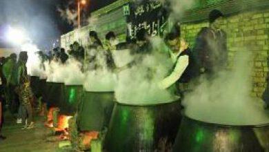 تصویر از پخت ۲ تن آش نذری در محمدیه نایین