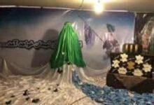 تصویر از افتتاح نمایشگاه فاطمیون شهر کلوانقِ هریس
