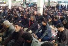 تصویر از برگزاری اجتماع فاطمیون در تربت جام
