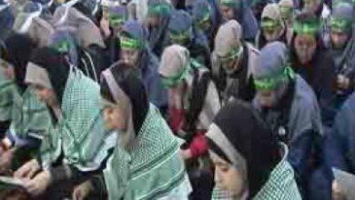تصویر از مراسم بزرگداشت سردار دلها در دبیرستان دخترانه قائمشهر