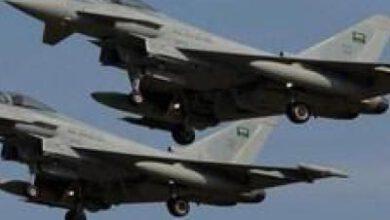تصویر از جنگندههای متجاوز سعودی «الدریهمی» یمن را بمباران کردند