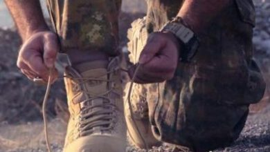 تصویر از ورزیدگی رزمندگان لشکر فاطمیون در سوریه+فیلم