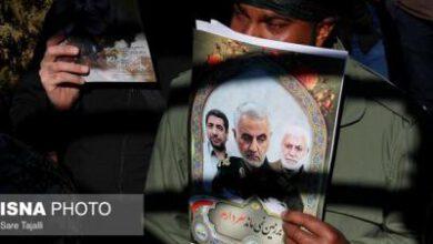 تصویر از تغییر نام سالن اجتماعات حسینیه عاشقان ثارالله بندرعباس به نام شهید سلیمانی